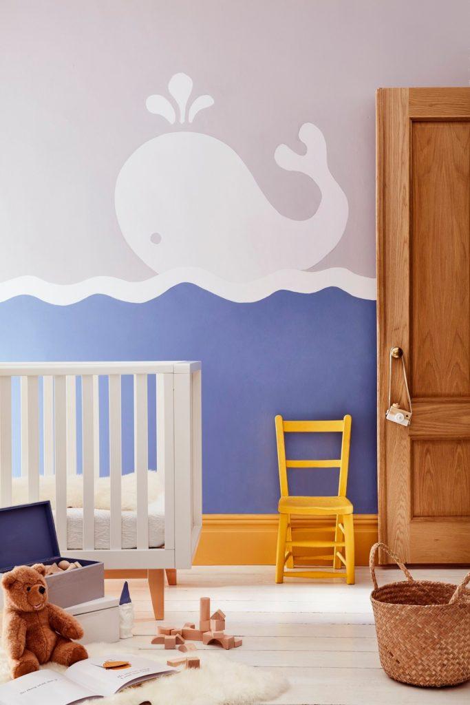 Peinture chambre d'enfant