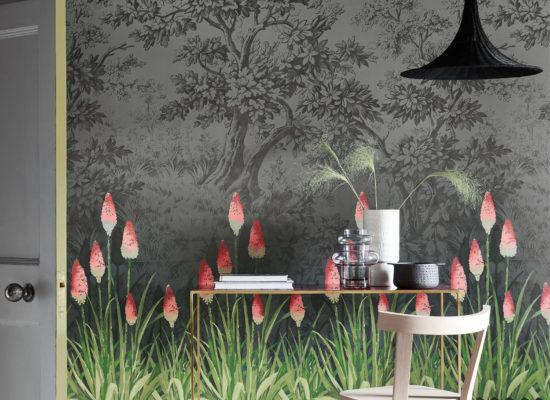 Papier peint litlle greene - upper brook panoramique